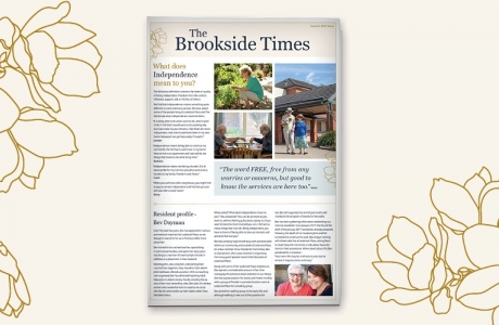 Read the autumn edition of the Brookside Times!